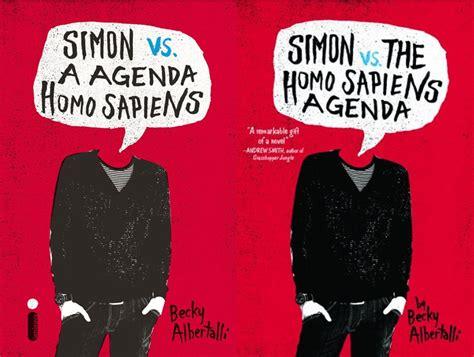 Simon Vs Homosapiens Agenda Becki Albertalli simon vs a agenda sapiens becky albertalli simon