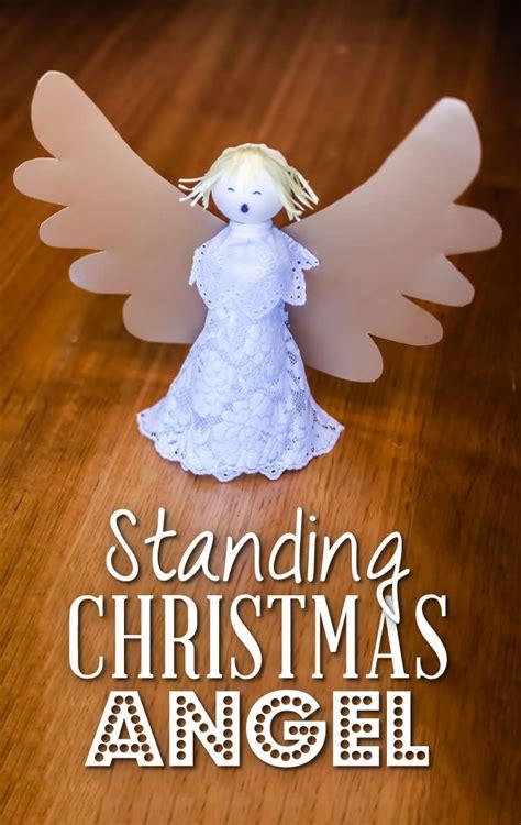 christmas angel standing