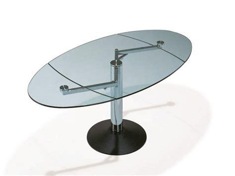 tavolo cristallo ovale tavolo ovale vetro idee di design per la casa rustify us