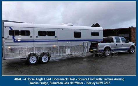 horse float awning horse float awnings pinnacle horse floats homepage