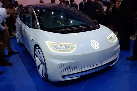 volkswagen id concept ev official pictures auto express