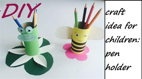 pencil holder craft ideas for diy pencil holder easy craft idea for children