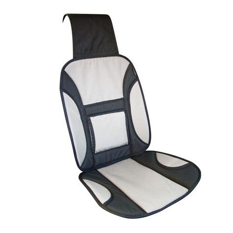 couvre siege couvre si 232 ge avec renfort lombaire tissu oxford gris et