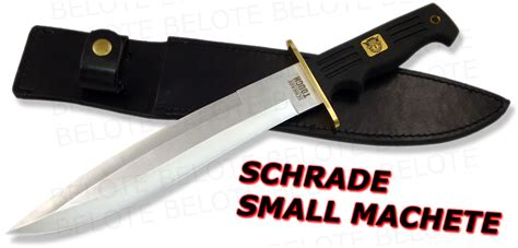 schrade tough schrade tough small machete w leather sheath schsm ebay