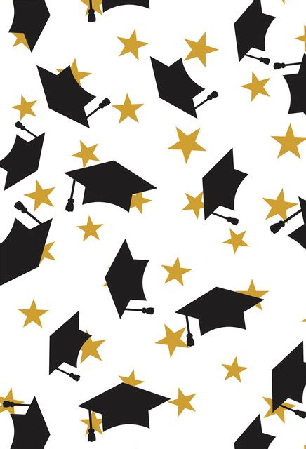 graduation photo backdrop photo booth background  congrats grad  graduation cap design
