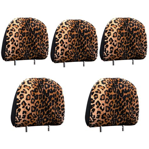 Animal Print Covers by 17pc Original Cheetah Leopard Car Animal Print Seat Covers