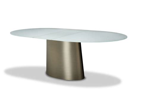 Michael Amini Trance Halsted Oval Extendable Dining Table