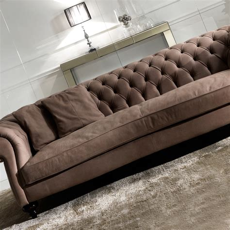 Italian Leather Sofa Meaning Italian Leather Modern Chesterfield Sofa