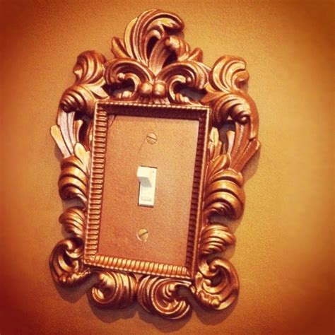 gold light switch covers gold glam baroque light switch plates h o m e