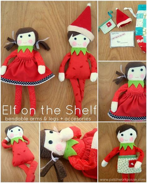 printable elf stuff 306 best images about free soft doll patterns on pinterest