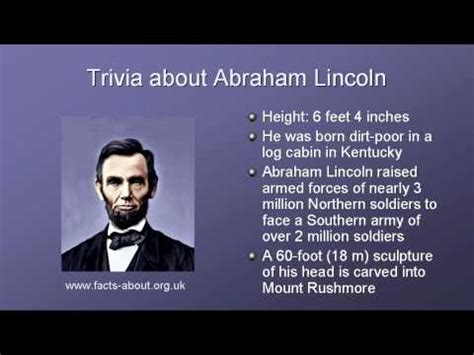 top 10 facts about abraham lincoln top 10 lists presidents sqworl