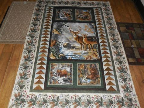Panel Quilts Free Patterns by Best 25 Wildlife Quilts Ideas On