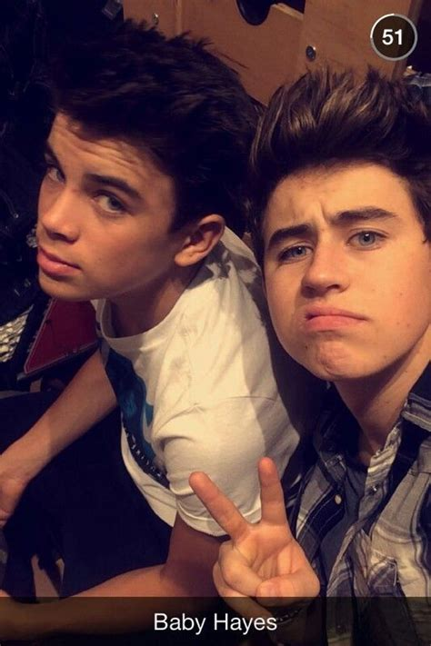 nash grier hairstyle hayes with his new hair cut nash grier pinterest