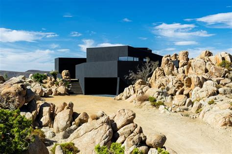 patio world valley black desert house oller pejic architecture archdaily