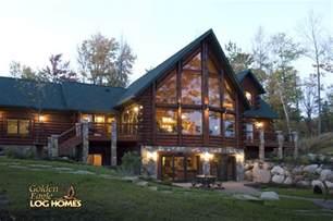 Eagle Home Interiors Golden Eagle Log Homes Log Home Cabin Pictures Photos