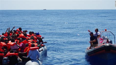 rescue boats mediterranean couple s boat rescues migrants crossing mediterranean cnn