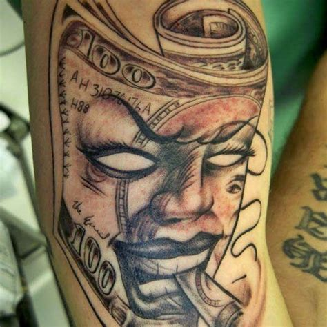 bankroll tattoo designs money tattoos for dollar ideas for guys