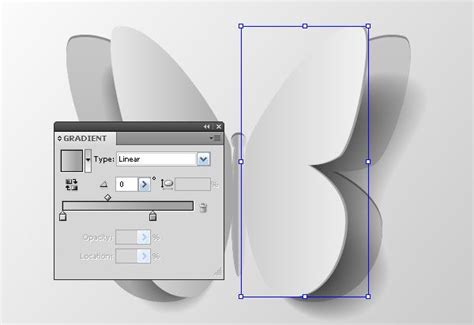 newspaper tutorial illustrator how to create a vector paper butterfly and apply text