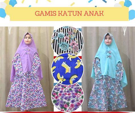 Grosir Gamis Murah Yogyakarta pusat grosir gamis katun anak perempuan syar i murah di