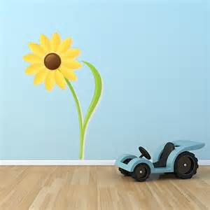 Sunflower Wall Stickers Sunflower Printed Wall Decal Wall Decal World