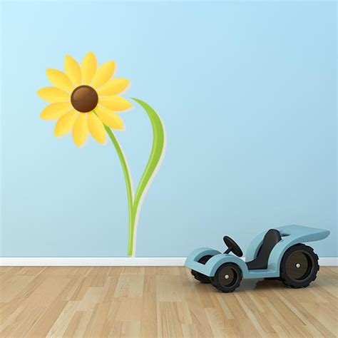sunflower wall stickers sunflower wall decals sunflower wall decor