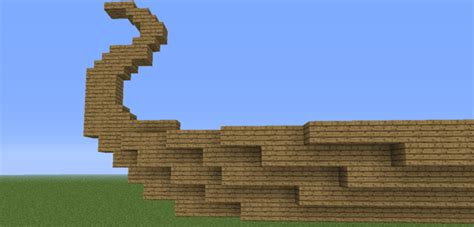 minecraft boat layout this is how to build a wooden viking boat aiiz
