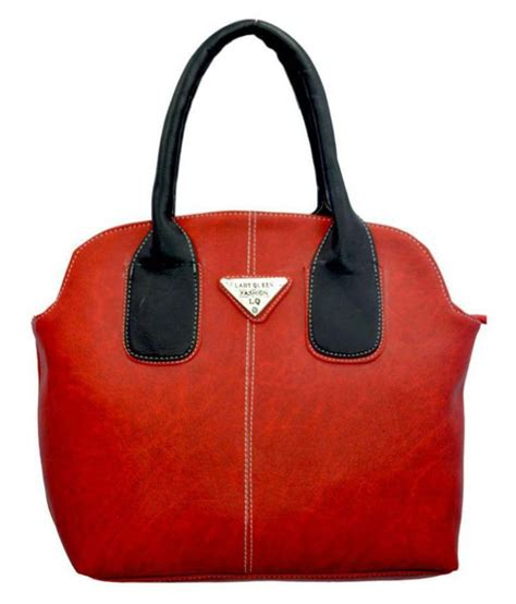 queen handbag lady queen red faux leather shoulder bag buy lady queen