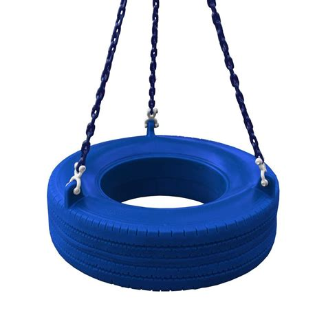 gorilla playsets 360 degree blue turbo tire swing 04 0015