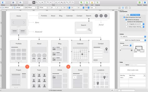 omni graffle templates the 59 best prototyping tools for ui and ux designers