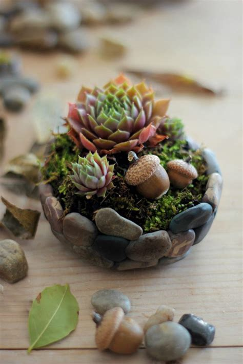 Rock Planters How To Make by How To Make A Faux Planter Ehow Crafts Ehow