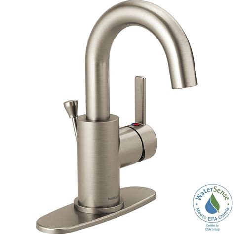 peerless bathroom faucet peerless apex 4 in centerset single handle bathroom