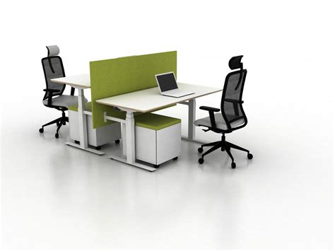 X Ray Two Seat Office Desk Desking Systems From Ergolain Office Desking Systems