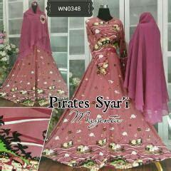 Ready Bunda Syari Shalma Gamis Maxi Busana Muslim Modern Shar rumah busana bunda heni fashion busana muslimah syari gamis realpict cantik