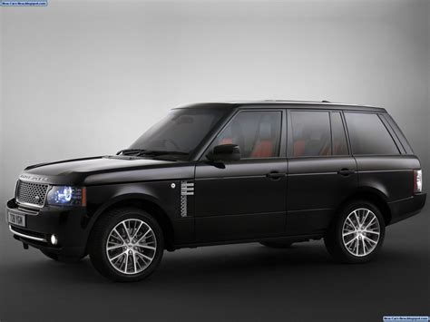 all black range rover land rover range rover autobiography black 2011 all in