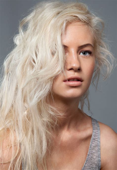 images of hair bleached white hair valenki by