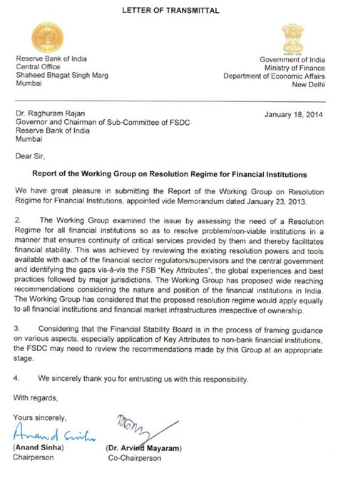 Guarantee Letter India Reserve Bank Of India Reports