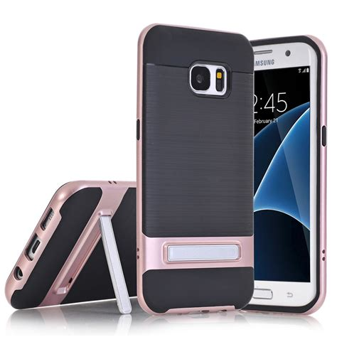 Samsung Galaxy S7 Pineaple Pattern Stripe Casing Cover Hardcase tpu pc silicon hybrid stand holder stripe kickstand back cover armor for samsung galaxy s7