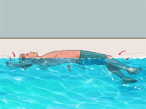 how to if your you 3 ways to float on your back wikihow
