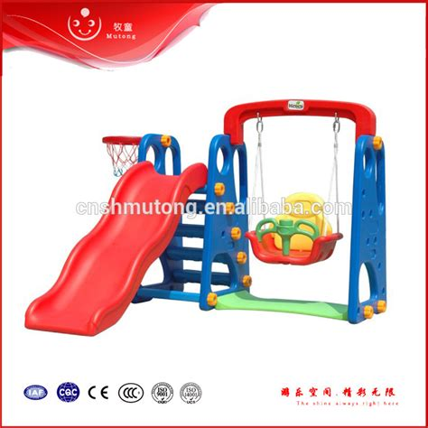 indoor swing and slide for toddlers plastic indoor small kids slide and swing buy small kids