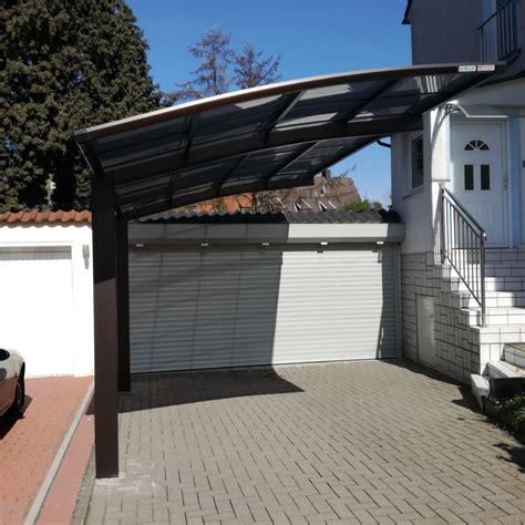 carport abverkauf aluminium carport bauen einzelcarport bausatz bogendach