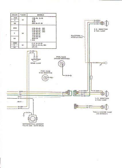 64 Chevy Truck Wiring Diagram