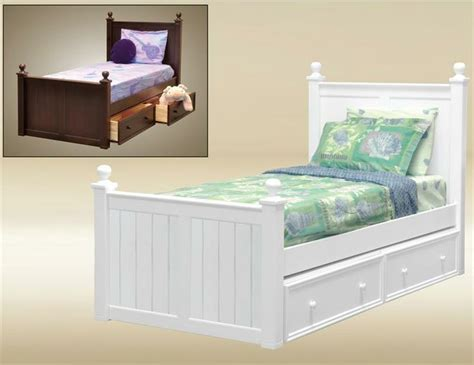 twin bed white wood 31 best images about madison s bedroom on pinterest