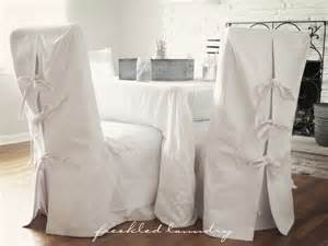 custom shabby chic parsons dinning chair covers in white canvas cotton contemporary dining