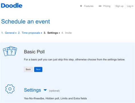 doodle schedule an event md tech tips use doodle to schedule meetings with