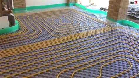 schema impianto riscaldamento a pavimento montaggio impianto di riscaldamento a pavimento con