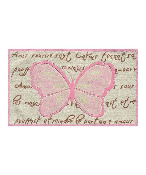 pink butterfly rug 14 best images about butterfly kisses on pink brown green and pottery barn
