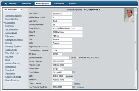 employee management system effortless online hr software