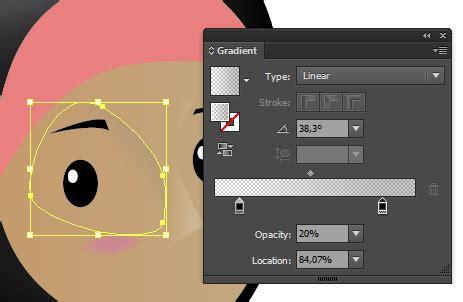 tutorial vektor ilustrasi menggambar ilustrasi muslimah berjilbab dengan adobe