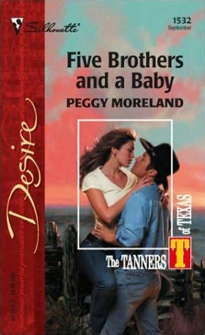 five brothers and a baby tanners of book 1 by peggy moreland