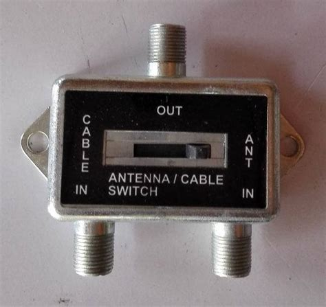 Switch Antena Tv antenne cable switch antenna splitter a b switch antenne cable switch antenna splitter a